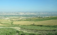 The Jordan River Valley.