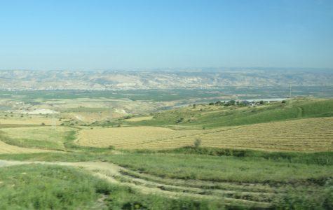 The Jordan River Valley.