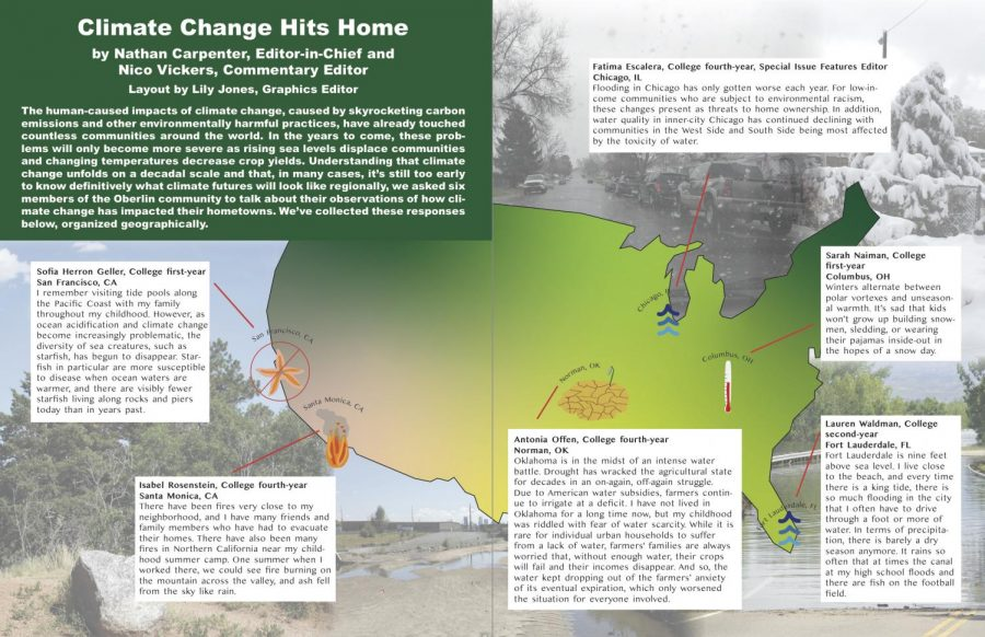Climate Change Hits Home