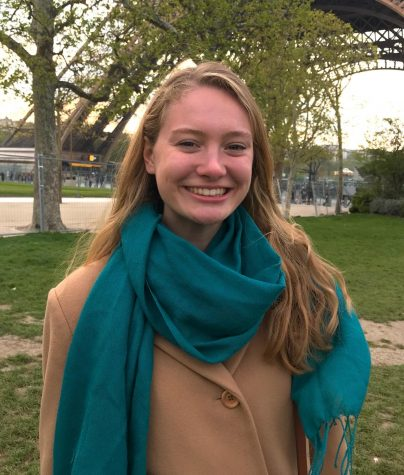 College fourth-year and News Editor Katie Lucey.