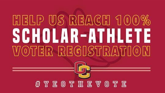 The Oberlin College Athletics department has created a new voting initiative called Yeo the Vote. Photo courtesy of GoYeo.
