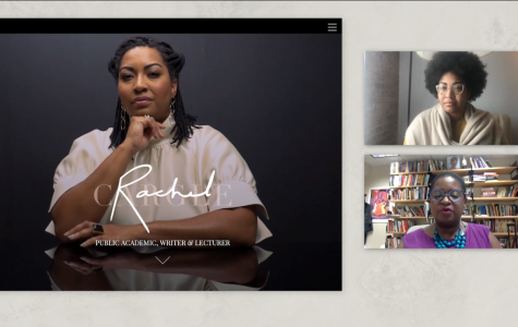 On Wednesday, activist and writer Rachel Cargle discussed the intersection of race and gender with Associate Professor of Africana Studies and Comparative American Studies Meredith Gadsby, special assistant to the President on racial equity and diversity.