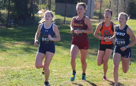 College second-year cross country and track and field athlete Lilly Crook.