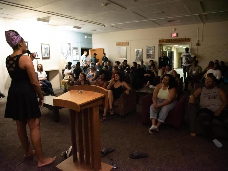 For fifty years, Afrikan Heritage House's in-person Soul Sessions have been filled with energy as the community comes together to perform, express themselves, and support each other. Now, virtual Soul Sessions share the same goal.