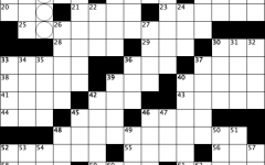Crossword: Eat Your Vegetables