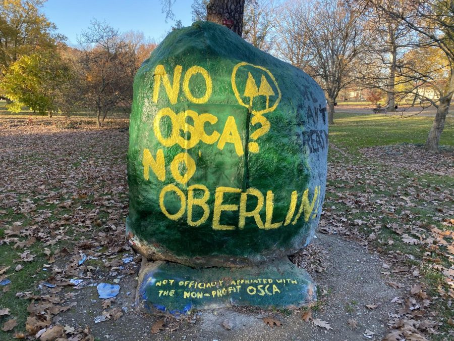 "Members of ""No OSCA? No Oberlin"" Advocate for Future of Co-ops"