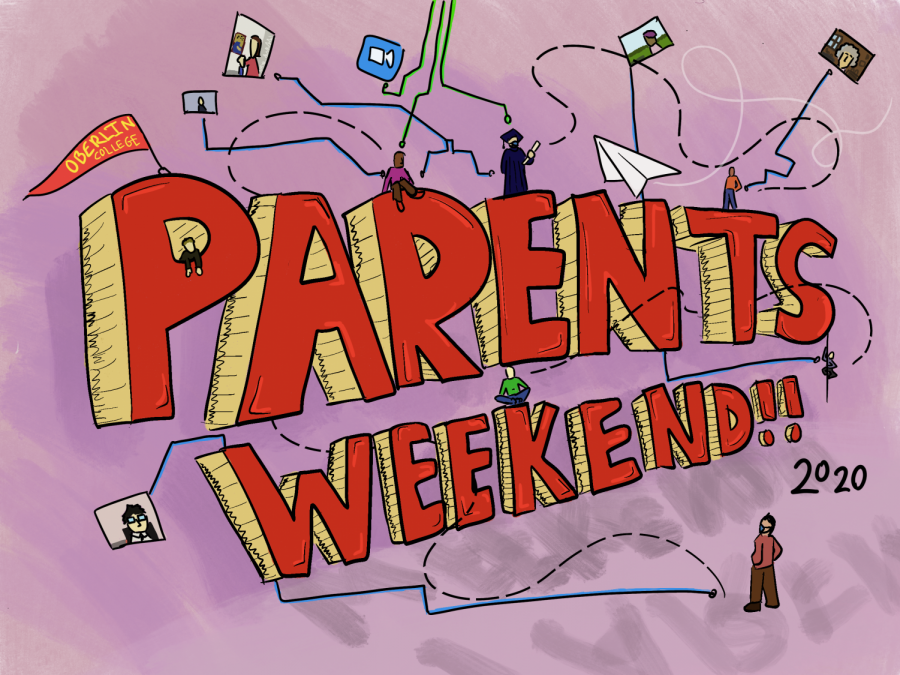 Oberlin transitioned its usual Parents and Family Weekend activities online this year.