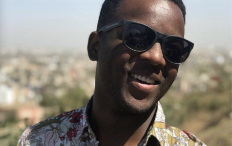 College third-year Cyril Amanfo: Playwright, Poet, Musician, Actor, Director