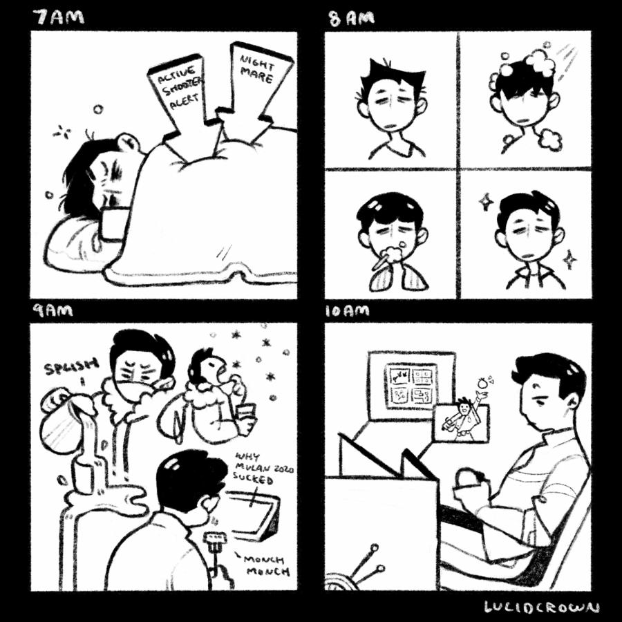Comic: Quarantine Lifestyle
