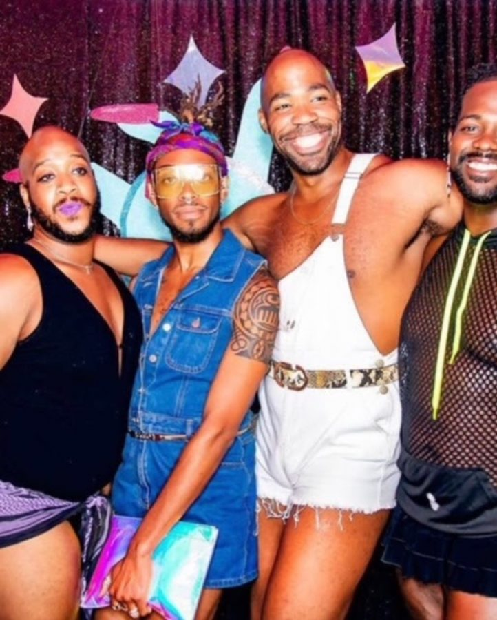Doctress Julian Kevon Glover (second to the left) found and fostered community through the ballroom scene, an integral part of Black queer nightlife.