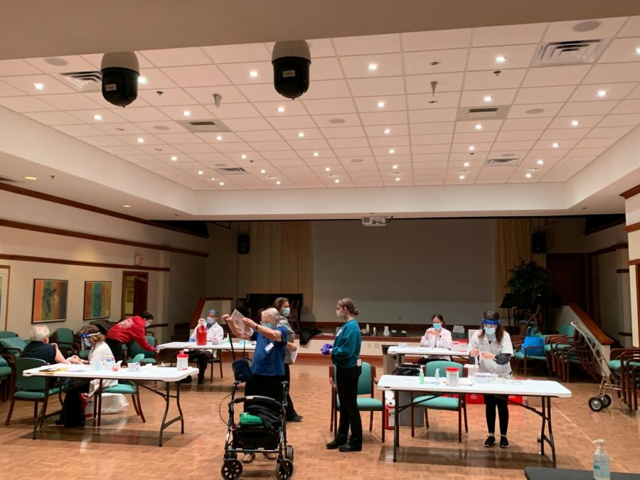 Kendal at Oberlin administered its final vaccine clinic on Thursday, Feb. 11.