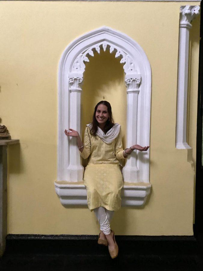 College third-year Audrey Kamal.