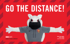 """""""Go the Distance"""" is a new campaign launched by the Office of the Dean of Students to encourage students to continue social distancing through the coming months."""