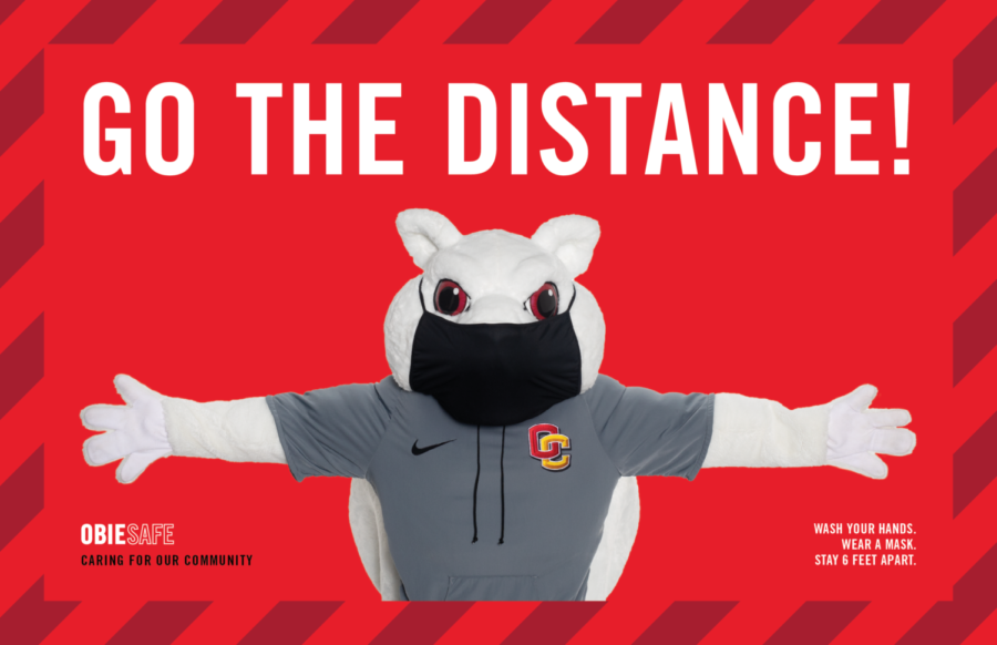 """Go the Distance"" is a new campaign launched by the Office of the Dean of Students to encourage students to continue social distancing through the coming months."