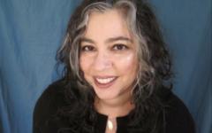 Visiting Assistant Professor of Creative Writing Robin Beth Schaer.