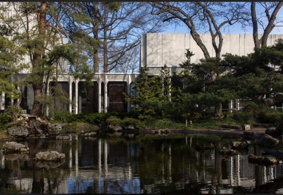 Oberlin Conservatory Pond.