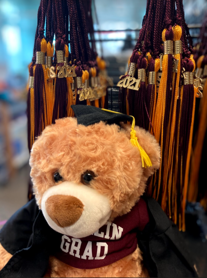 The Oberlin College Bookstore is now selling Commencement regalia in preparation for the in-person ceremony on May 14.