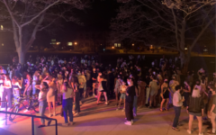 On Tuesday night, students gathered in Wilder Bowl to dance away the end-of-semester blues.