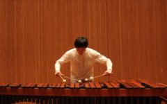 Conservatory third-year Thomas Li Dam Ning plays Yasuo Sueyoshis Mirage pour Marimba, showcasing the type of performance that students can expect at the upcoming festival.