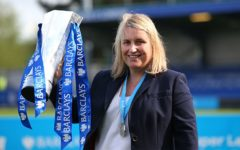 Emma Hayes, manager and coach of the Chelsea Football Club women's team.