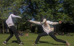 Oberlin's club fencing team.