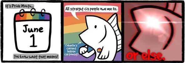 Comic: Pride Month Shakedown