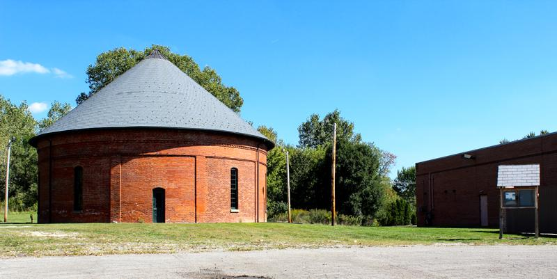The Oberlin Gasholder Building, constructed in 1889 to store coal gas, will house the Underground Railroad museum.