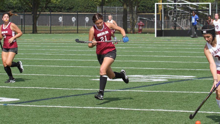 College third-year Lea Watkins-Chow.