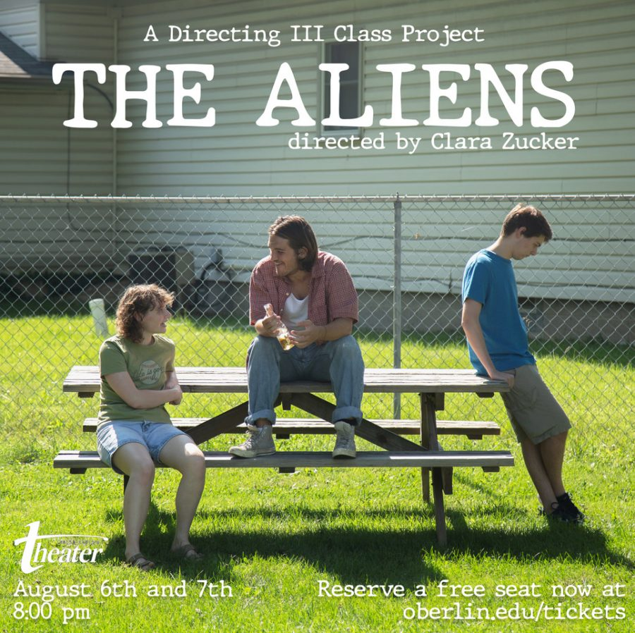 The Aliens, opening on Aug. 6, marks the first-ever student directed production to air on the stage of the Irene and Alan Wurtzel Theater.