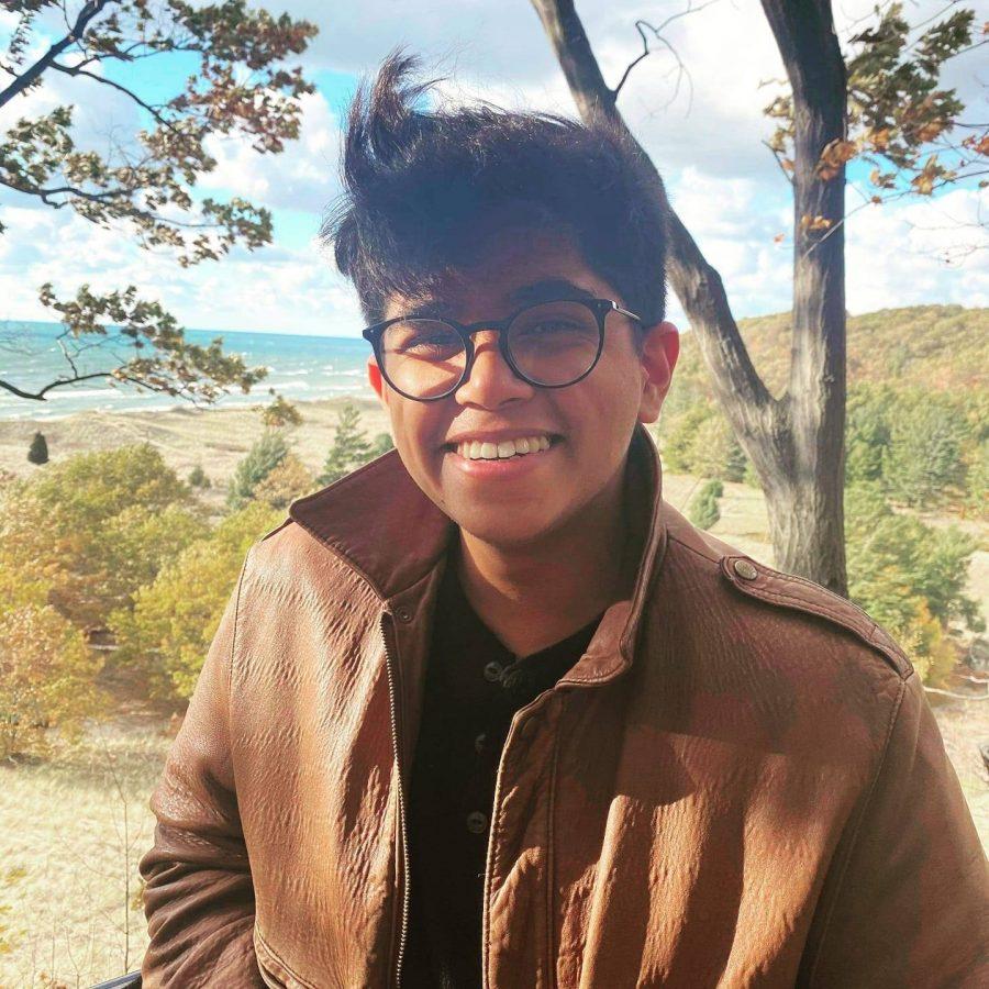 Editor-in-Chief Kushagra Kar.