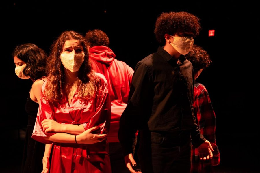 Student-directed play Let Them Eat Chaos will be showing in the Irene and Alan Wurtzel Theater this Saturday and Sunday.