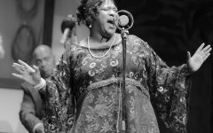 Ma Rainey: Starring a combination of Oberlin students and Cleveland actors, Ma Rainey's Black Bottom, directed by Oberlin Associate Professor of Theater and Africana Studies Justin Emeka, OC '95, opened on Oct. 8 at Karamu House.