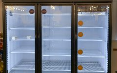 This semester, students have reported that fridges in DeCafé are frequently empty.