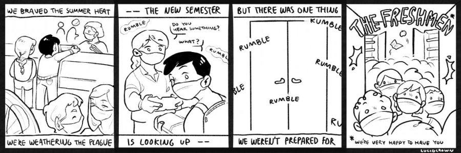Comic: The Freshman Horde