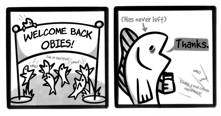 Welcome Back Comic